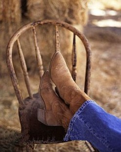 My Old Cowboy Boots