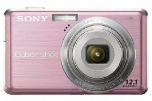 Sony Cybershot Pink Digital Camera