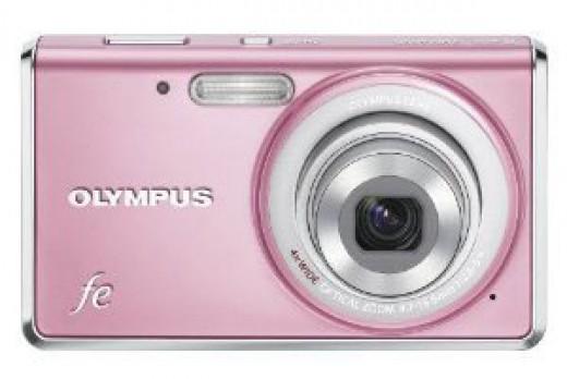 Olympus Pink Digital Camera