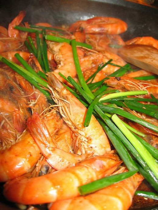 Adobo Shrimp