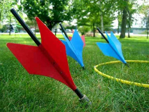 Lawn Darts were banned in the 80's..so why did I have them growing up??? National Backyard Games Week 18th-25th