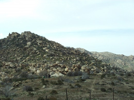 Here is a picture of The Pinnacles in the illustrious San Bernardino Mountains.