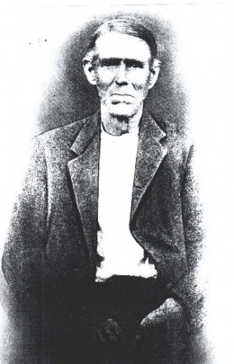 Andrew Baker, born January, 1830, in what is now Letcher County, KY, and died on Knox Creek in 1913.