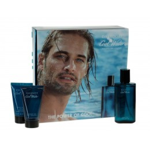 Cool Water Eau de Toilette Gift Set 75ml by Davidoff