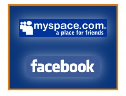 Facebook and Myspace