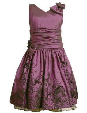 Bonnie Jean Iridescent taffeta Dress