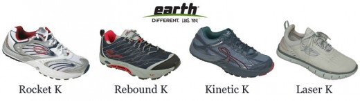 All of the above sneakers are part of an extensive range of Earth Vegan shoes, and are constructed entirely from synthetics