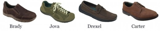 Just a small selection of the great Mens Earth Casual shoes