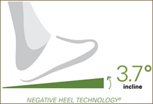 Kalso Negative Heel Technology