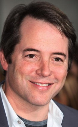 Mathew Broderick plays the lovable character of Ferris Bueller.