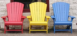 The Recycled Plastic Adirondack Chair