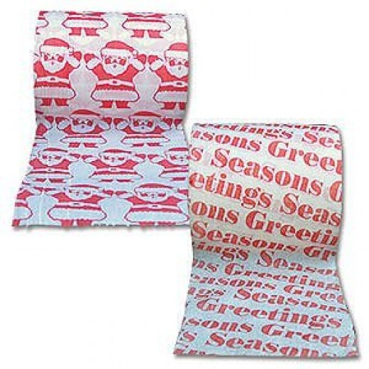 Christmas Toilet Paper Festive Holiday Tissue Set 2