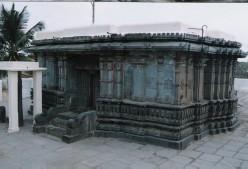 A Jain temple in Karnataka,South India