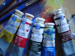 Join the great masters by painting in oils