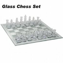 Beautiful Glass Chess Set