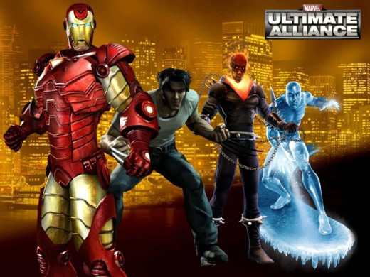 The cast is large and fun in Ultimate Alliance, though not all characters are available without DLC.
