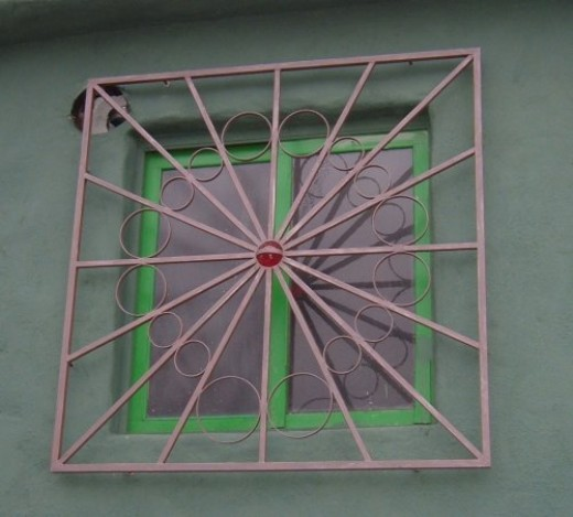 Mazar Ribah window