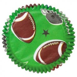 Football Themed Party Cakes and Cupcakes