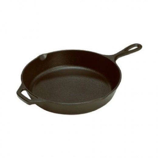 Lodge Mfg. L14SK3 Skillet With Assist Handle