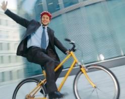 Bike to work...again...