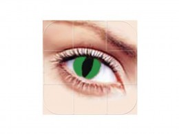 Rainbow Professional Krazys Graphic Color Cosmetic Contact Lens