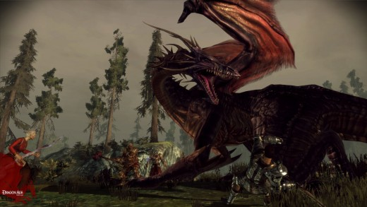 One disappointment for me was that there were so few dragons to kill in Dragon Age.  Hopefully, hopefully Dragon Age II will have more Dragon Slaying.