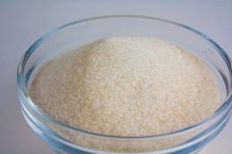 Raw untreated sugar.