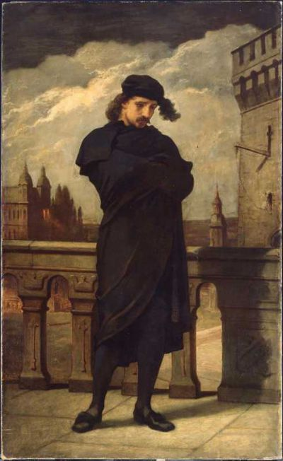 Hamlet (William Morris Hunt, 1864)