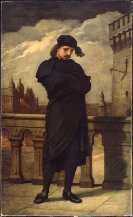 Hamlet (William Morris Hunt, 1864)