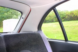 Rear Window Pillar Blind Spot