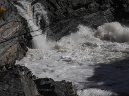 Raw power of cascading water