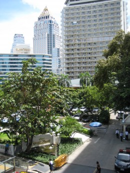 The Dusit Thani - A popular hotel very close to Patpong