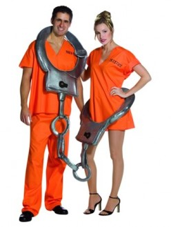 Handcuffs Costume from Angels Fancydress.com