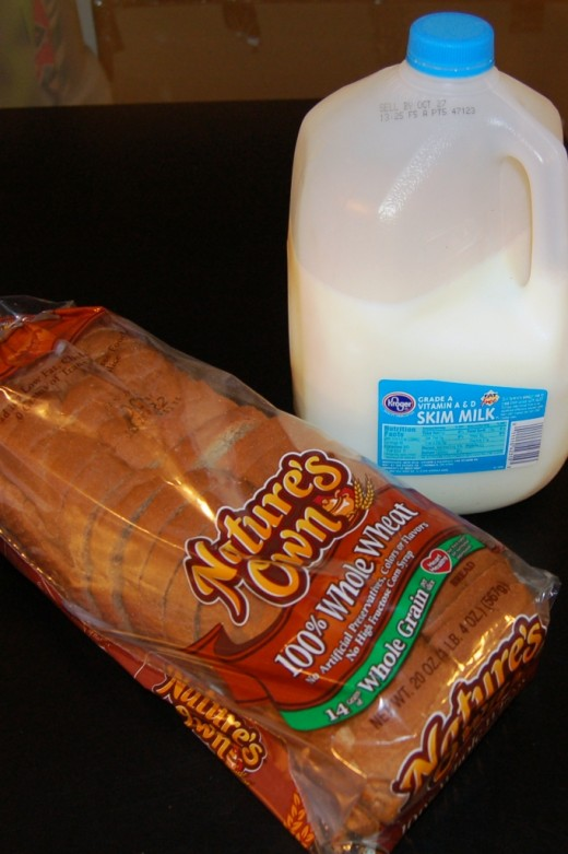 You know you're getting old when the highlight of your day is going to the grocery store to get milk and bread.