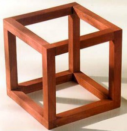 V is for Vraisemblance and though this cube looks buildable--I dare you to try