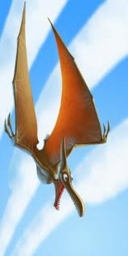 "P is for Pterodactyl  Legend has it the shout ""Geronimo!"" originated with these guys"