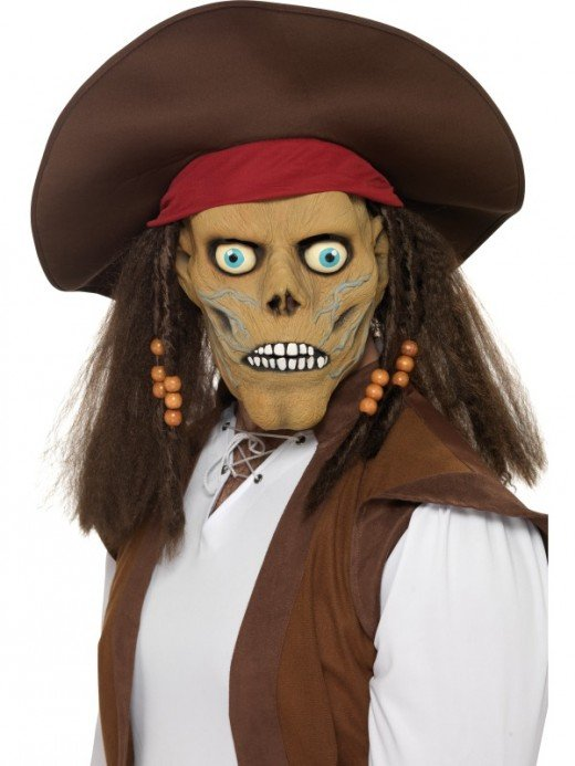 Pirate Halloween Mask