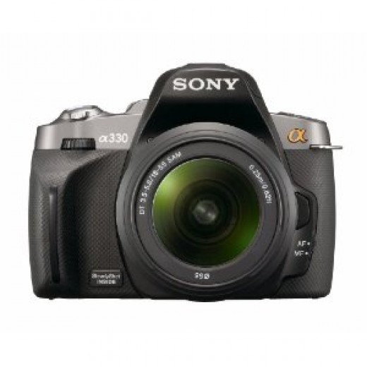 Sony Alpha A330L Digital SLR Camera