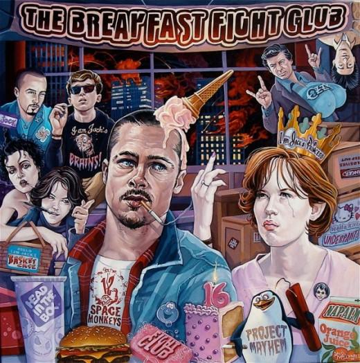 Breakfast Fight Club
