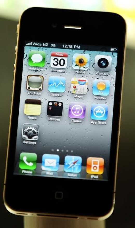 The iPhone 4 is one of the best cell phones of 2010.