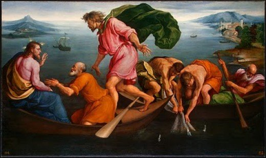 Painting by Jacopo Bassano