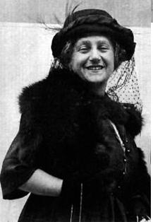 Elsa Einstein, his second wife.