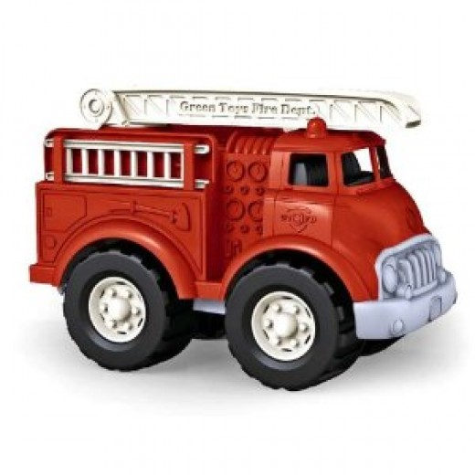 Eco-friendly fire engine from Green Toys