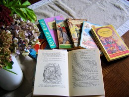 Well loved children's books are passed down from generation to generation