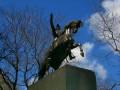 Jose de San Martin statue in Central Park