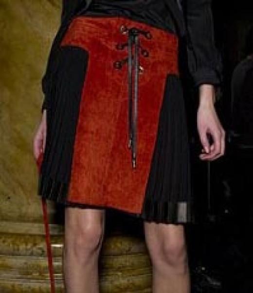 Pleated skirt by Derek Lam