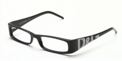 D&G Style 1114 Eyeglasses - Dolce and Gabbana helped bring back old fashion eyewear into new fashion with the company's logo printed on all products.