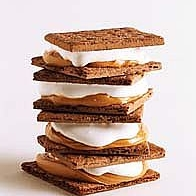 Chocolate and Peanut Butter Halloween Smores
