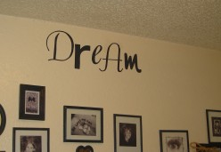 DIY Vinyl Wall Quotes