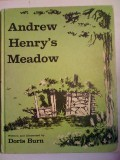 The cover of Andrew Henry's Meadow book